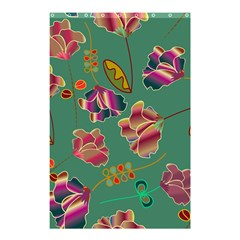 Flowers Pattern Shower Curtain 48  X 72  (small)  by Nexatart
