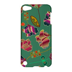 Flowers Pattern Apple Ipod Touch 5 Hardshell Case