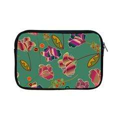 Flowers Pattern Apple Ipad Mini Zipper Cases