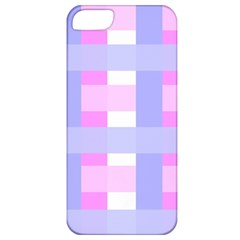 Gingham Checkered Texture Pattern Apple Iphone 5 Classic Hardshell Case by Nexatart