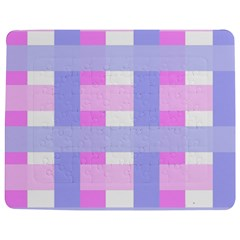 Gingham Checkered Texture Pattern Jigsaw Puzzle Photo Stand (rectangular) by Nexatart