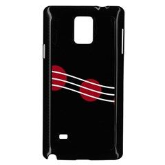 Elegant Abstraction Samsung Galaxy Note 4 Case (black)