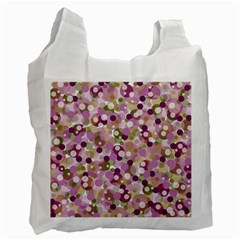 Colorful Bubbles Recycle Bag (one Side) by Valentinaart
