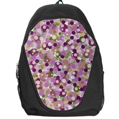 Colorful Bubbles Backpack Bag by Valentinaart
