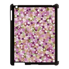 Colorful Bubbles Apple Ipad 3/4 Case (black) by Valentinaart