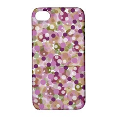 Colorful Bubbles Apple Iphone 4/4s Hardshell Case With Stand by Valentinaart