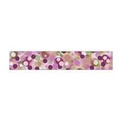 Colorful Bubbles Flano Scarf (mini) by Valentinaart