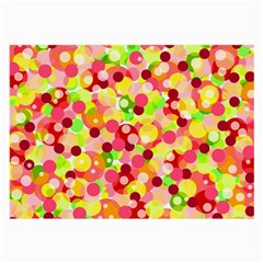 Playful Bubbles Large Glasses Cloth by Valentinaart