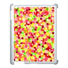 Playful Bubbles Apple Ipad 3/4 Case (white) by Valentinaart