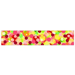 Playful Bubbles Flano Scarf (small) by Valentinaart