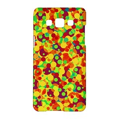 Bubbles Pattern Samsung Galaxy A5 Hardshell Case  by Valentinaart