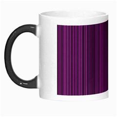Deep Purple Lines Morph Mugs by Valentinaart