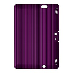 Deep Purple Lines Kindle Fire Hdx 8 9  Hardshell Case by Valentinaart