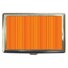 Orange Pattern Cigarette Money Cases by Valentinaart
