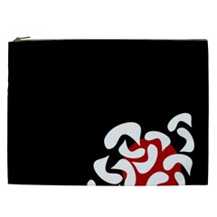 Elegant Abstraction Cosmetic Bag (xxl)  by Valentinaart