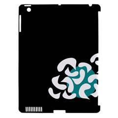 Elegant Abstraction Apple Ipad 3/4 Hardshell Case (compatible With Smart Cover) by Valentinaart
