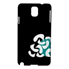 Elegant Abstraction Samsung Galaxy Note 3 N9005 Hardshell Case by Valentinaart