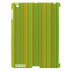 Green Lines Apple Ipad 3/4 Hardshell Case (compatible With Smart Cover) by Valentinaart