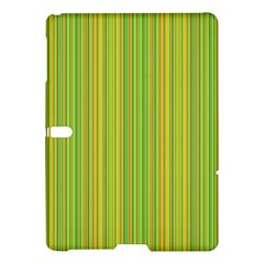 Green Lines Samsung Galaxy Tab S (10 5 ) Hardshell Case