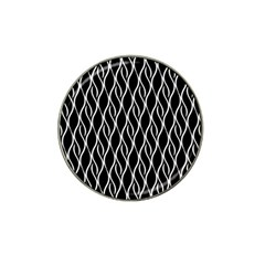Elegant Black And White Pattern Hat Clip Ball Marker (10 Pack) by Valentinaart
