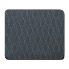 Gray Pattern Large Mousepads by Valentinaart