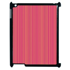 Elegant Lines Apple Ipad 2 Case (black) by Valentinaart