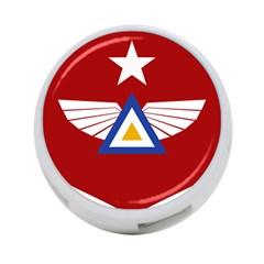 Emblem Of The Myanmar Air Force 4 Port Usb Hub (one Side) by abbeyz71