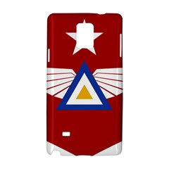 Emblem Of The Myanmar Air Force Samsung Galaxy Note 4 Hardshell Case by abbeyz71