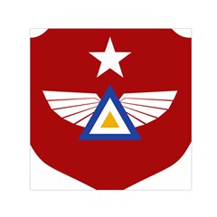 Emblem Of The Myanmar Air Force Small Satin Scarf (square) by abbeyz71