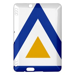 Roundel Of The Myanmar Air Force Kindle Fire Hdx Hardshell Case by abbeyz71