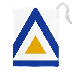 Roundel Of The Myanmar Air Force Drawstring Pouches (xxl) by abbeyz71