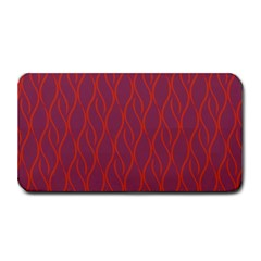 Red Pattern Medium Bar Mats by Valentinaart