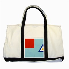 Air Force Ensign ,f Burma, 1948 1974 Two Tone Tote Bag by abbeyz71