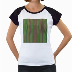 Green Lines Women s Cap Sleeve T by Valentinaart