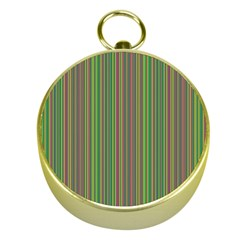Green Lines Gold Compasses by Valentinaart