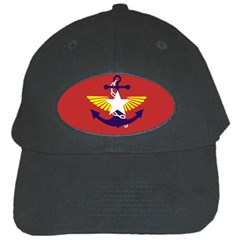 Flag Of The Myanmar Armed Forces Black Cap by abbeyz71