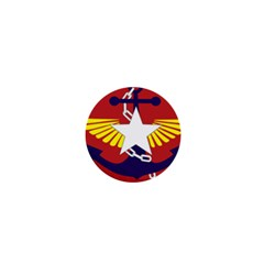 Flag Of The Myanmar Armed Forces 1  Mini Buttons by abbeyz71