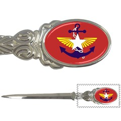 Flag Of The Myanmar Armed Forces Letter Openers by abbeyz71
