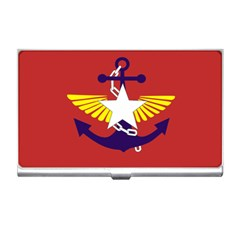 Flag Of The Myanmar Armed Forces Business Card Holders by abbeyz71