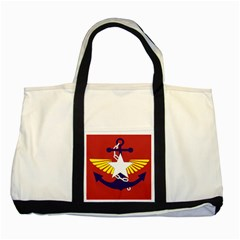 Flag Of The Myanmar Armed Forces Two Tone Tote Bag by abbeyz71