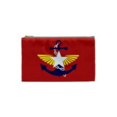 Flag Of The Myanmar Armed Forces Cosmetic Bag (small)  by abbeyz71