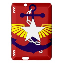 Flag Of The Myanmar Armed Forces Kindle Fire Hdx Hardshell Case by abbeyz71