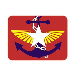 Flag Of The Myanmar Armed Forces Double Sided Flano Blanket (mini)  by abbeyz71