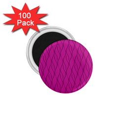 Magenta Pattern 1 75  Magnets (100 Pack)  by Valentinaart