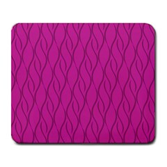 Magenta Pattern Large Mousepads by Valentinaart