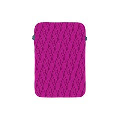 Magenta Pattern Apple Ipad Mini Protective Soft Cases by Valentinaart