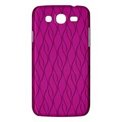 Magenta Pattern Samsung Galaxy Mega 5 8 I9152 Hardshell Case  by Valentinaart