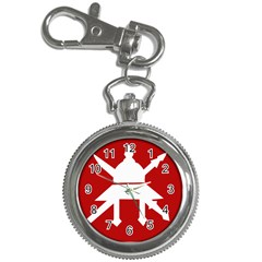 Flag Of The Myanmar Army Key Chain Watches by abbeyz71