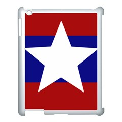 Flag Of The Bureau Of Special Operations Of Myanmar Army Apple Ipad 3/4 Case (white) by abbeyz71
