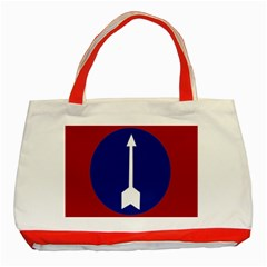Flag Of Myanmar Army Northern Command  Classic Tote Bag (red) by abbeyz71